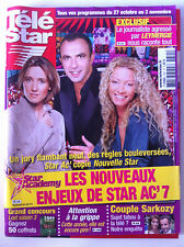 TELE STAR du 22/10/2007; Confidence de Valérie Trierweiler/ S. Vartan/ Pfeiffer