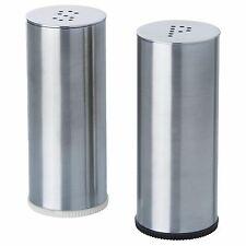 Plats saleros y pimenteros acero inoxidable pulido condimento frascos IKEA