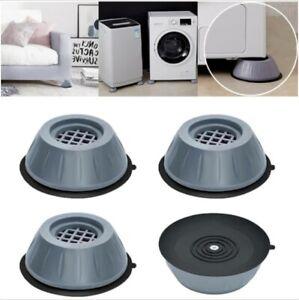 4pcs Anti Vibration Washing Machine Support Shock and Noise Cancelling