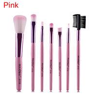 Pro 7Pcs Makeup Brush Set Foundation Eyebrow Eyeshadow Blush Brushes Beauty Tool