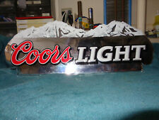 RARE COORS LIGHT TIN SIGN