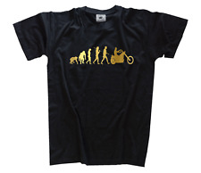 GOLD Edition Chopper Biker Rocker Evolution T-Shirt S-XXXL