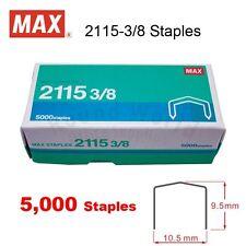 MAX 2115-3/8 Staples (5000's) for HP-88 Plier Stapler