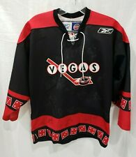 Autographed Team Signed Authentic ECHL Las Vegas Wranglers Jersey Youth L XL