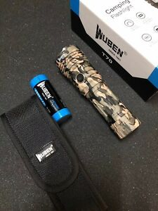 WUBEN T70 XHP70.2 Camouflage Flashlight 4200 Lumens Type-C Quick charger
