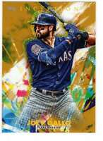 Joey Gallo 2020 Topps Inception 5x7 Gold #68 /10 Rangers