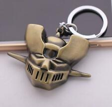 DZ896 Mazinger Z Head Alloy Exquisite Pendant Anime Keychain Key Ring Hangings *