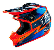 Troy Lee Designs SE3 Team 2016 MX Offroad Helmet Navy Blue/Orange SM