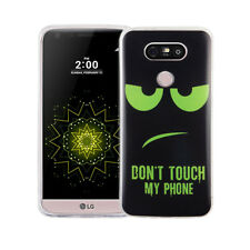 Case For Lg G5 Don'T Touch Green Case Cover Motif Slim TPU Bumper