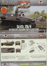 Tracteur d'artillerie Sd.Kfz. 251/4, First To Fight,1/72, Plastique ,nouveauté