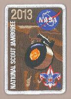 2013 USA BOY SCOUTS OF AMERICA - BSA National Jamboree NASA PROGRAM PATCH