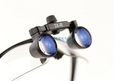 Extra Light Flip Up Dental Loupe / Surgical Loupe 3.0X with Black Sporty Frame