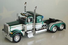 WHITE GREEN PETERBILT SMALL BUNK DAY CAB OPTION ONLY 1/64 DCP DIECAST 33564