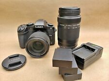 LUMIX DMC-G85 Mirrorless Micro Four Thirds Digital 4k Camera with Lenses