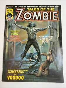 Tales Of The Zombie #1 Vol #2 Boris Vallejo Cover Marvel/Curtis 1974 VF/NM