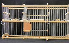 Double Trap Cage For Birds :: Balance // To Trap Softly :: Multi-Action ::