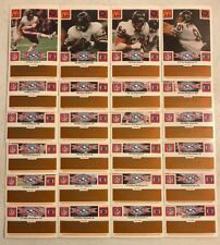 1986 MCDONALDS CHICAGO BEAR SUPER BOWL CHAMPION GOLD TAB COMPLETE SET (24)
