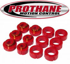Prothane 7-115 1982-2004 S10 S15 Standard Cab 2WD 4WD Body Mount Bushing Kit Red