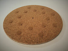 Original Cork Turntable Mat (THICK) - Audiophile Mat for Vinyl Record LP's
