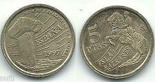 Juan Carlos I 5 pesetas 1997 Balearic islands