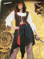 Womens Sexy PIRATE of CARIBBEAN PIRATE Fancy Dress Costume Outfit