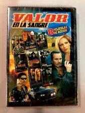 Valor En La Sangre Movies Set 8 Películas De Accion Spanish DVD Movies