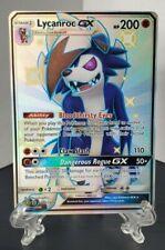 Pokemon TCG - Shiny Lycanroc GX SV66/SV94 Ultra Rare - Hidden Fates - Mint
