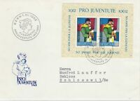 Switzerland 1962 Postal History Stamps Cover Ref: R7789