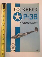 "Lockheed P-38 ""LIGHTNING"" aeroseries VOL 19"