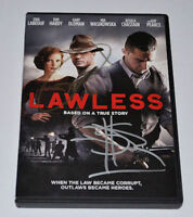 LAWLESS  DVD Autograph TOM HARDY & SHIA LABEOUF Rare!