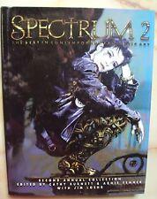 SPECTRUM 2 HARDCOVER ANNUAL COLLECTION FANTASY ART UNDERWOOD BOOKS 1995 II