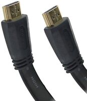 15m Premium HDMI Flat Cable v2.0 Latest HD HighSpeed 4K UltraHD 2160p 3D