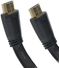 121AV® 15m PREMIUM HDMI Flat Cable v2.0 LATEST HD HighSpeed 4K UltraHD 2160p 3D