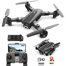 DEERC S167 RC GPS Drohne 1080P HD Kamera FPV Quadcopter Drone für Anfänger
