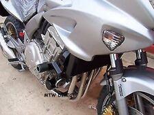 R&G Racing PAIR ROUND CRASH PROTECTORS for Honda CBF1000 ABS (2008)