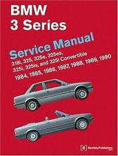 BMW 3-Series Service Manual, 1984-1990 by Bentley (1990, Paperback)