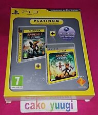 RATCHET & CLANK OPERATION DESTRUCTION + A CRACK IN TIME PLATINUM SONY PS3 NEUF