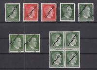 S4181/ AUSTRIA – SOVIET ZONE – MI # 660 - 662 MINT MNH INCL VARIETIES