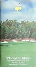 2018 MASTERS SPECTATOR GUIDE BOOK