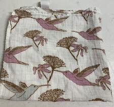 New listing Milkbarn Lovey Mini Baby Security Blanket Himmingbirds !