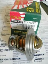 Thermostat = QTH366 fits Honda Accord Civic CRX Aerodeck Coupe CR-V CR-X Prelude