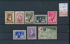 LL95861 Belgium 1939 red cross anniversary fine lot MNH cv 42 EUR