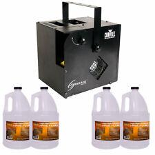 Chauvet DJ Hurricane Haze 2D Haze/Smoke Machine + Remote + 4 Gallons of Fluid