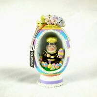 2002 Hershey's Collectible Kurt S. Adler Happy Easter Coloring Eggs Figurine