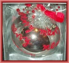 Dept 56 Christmas Jumbo Ball Ornament Sandra Magsamen  New