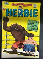 HERBIE #23 (1967) ACG Comics VG+