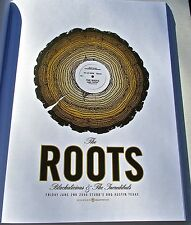 The Roots Mini Concert Poster for Austin Tx Concert in   2006-Unsigned