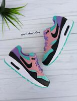 5.5Y |  7 WOMEN'S NIKE AIR 1 DAY MULTICOLOR AT8131 001 RUNNING CASUAL SNEAKERS