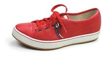 Alexander McQueen AMQ Deck Lo Red Fashion Puma Trainers Sz 8