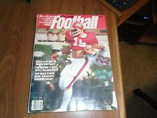 1980 Street & Smith's College Football Yearbook Scott Woerner Cover